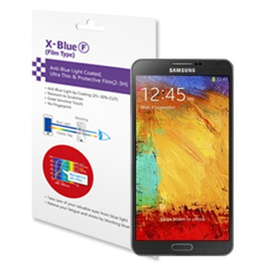 Galaxy Note 3 blue light blocking protective film
