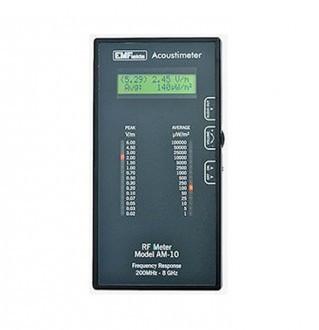 Acoustimeter radio frequency (RF) meter