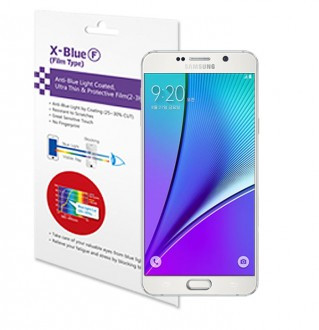 5 Galaxy Note blue light blocking  protective film