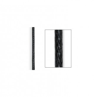 Q-Link Black Satin Cord