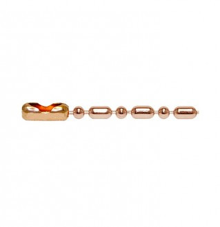 Q-Link Copper Bead-Bar Chain