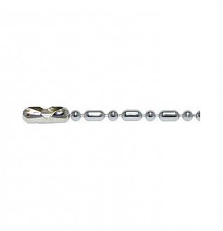 Q-Link Sterling Silver Bead-Bar Chain