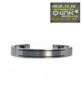 Q-Link Men Stainless Steel Bracelet