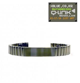 Q-Link  Silver titanium_ bracelet