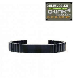 Q-Link Black titanium_  bracelet