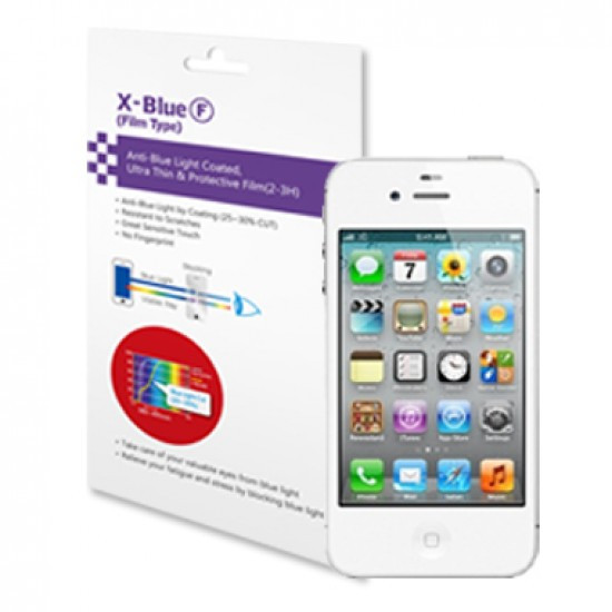 IPhone 4 / 4S blue light blocking protective film