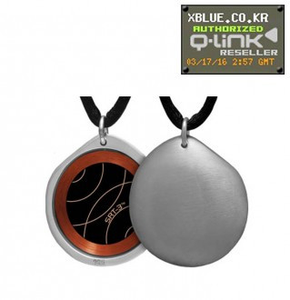 Q-Link Silver Pebble Brushed pendant