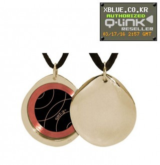 Link queues Gold Pebble Polished Necklace Gold Polished Pebble