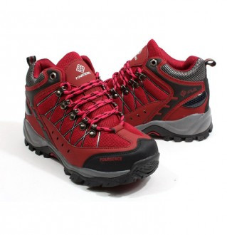 Earthing hiking shoes for women 3511 Wine