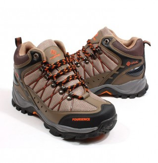 Earthing hiking shoes men's 3511 Brown