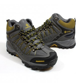 Earthing hiking shoes men's 3511 Gray
