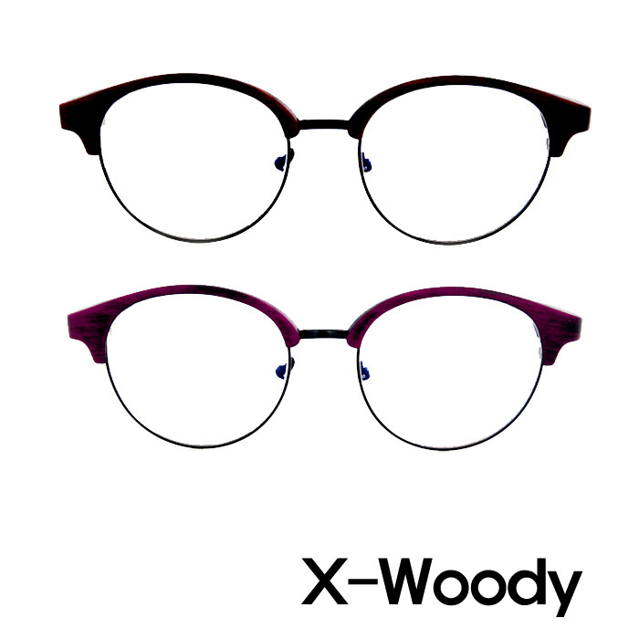 X-Woody PC blue light blocking glasses