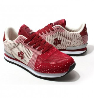 Earthing shoes sneakers Women 2536 Red