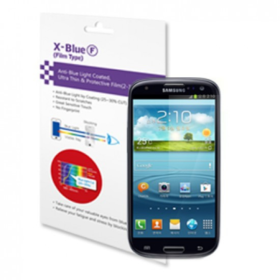 Galaxy S3 blue light blocking protective film