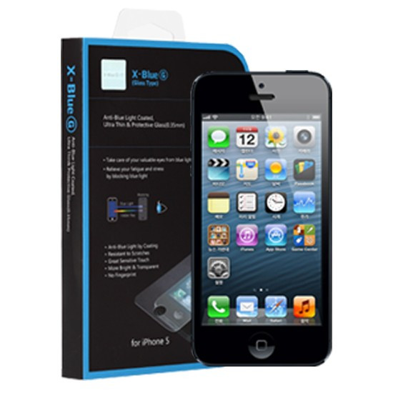 IPhone 5 / 5S / 5C  blue light blocking screen protector