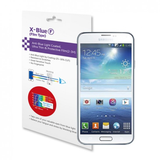 [X-BLUE]Galaxy S5 / S5 LTE-A blue light blocking protective film