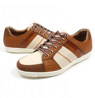 Earthing Men's shoes  Golf/ Casual 1419 Classic Beige