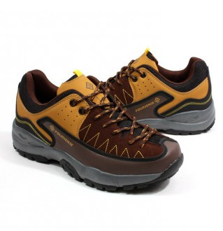 Earthing hiking shoes men's 3516 Brown