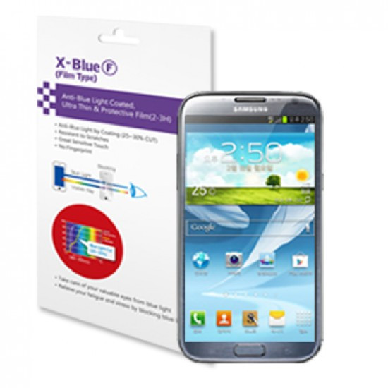Galaxy Note 2 blue light blocking protective film