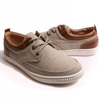 Earthing Men's Shoes Casual  4605 AL Beige