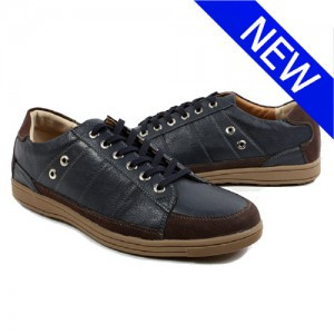 Earthing Shoes Men's Shoes Navy  1410